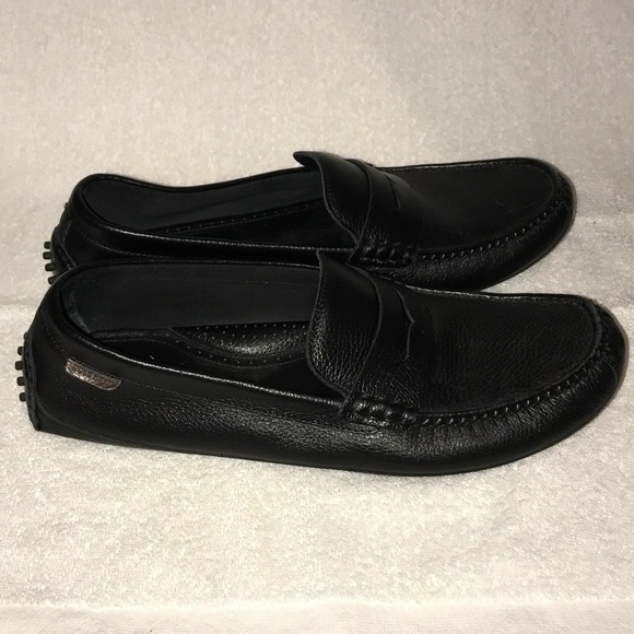 Cole Haan Other - Cole Haan Black Grant Canoe Penny Loafers Size 12